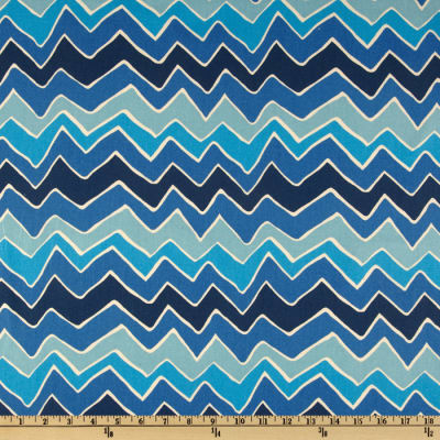 Premier Prints Seesaw Arctic Blue/Natural