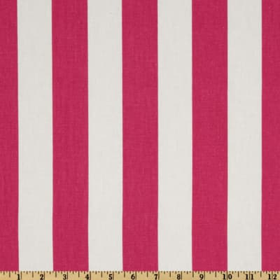 Premier Prints Canopy Stripe Candy Pink/White