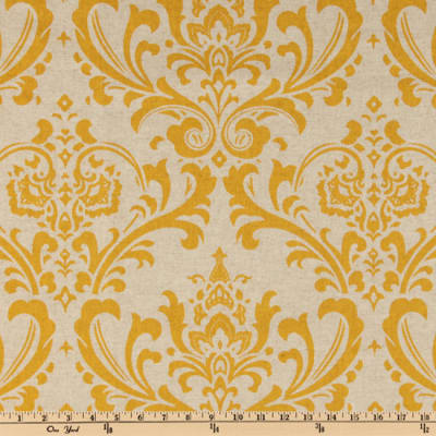 Premier Prints Traditions Blend Oatmeal/Yellow