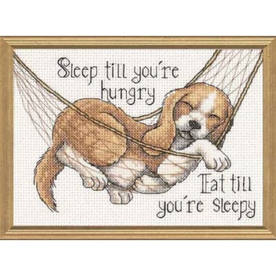 Dimensions The Good Life  7'' x 5'' Mini Counted Cross Stitch Kit