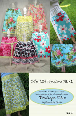 Serendipity The Emaline Skirt Pattern