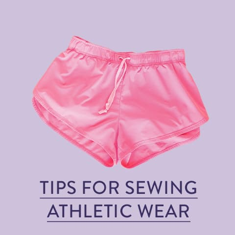 Tips For Sewing Athletic Wear
