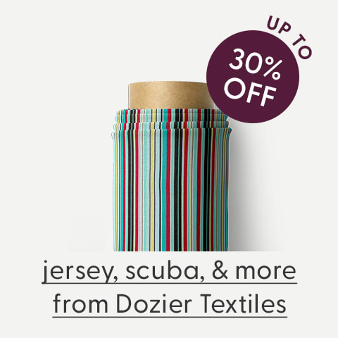 Save up to 30% on Dozier Textiles