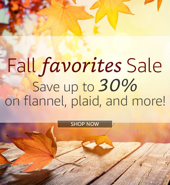 Fall Favorites Sale