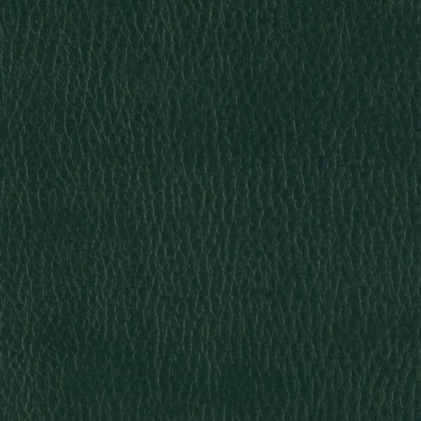 Flannel Backed Faux Leather Deluxe Dark Green