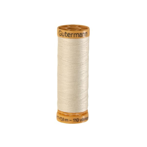 Gutermann Natural Cotton Thread 100m/109yds Ecru