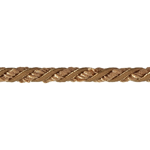 """Sylvia 1/4"""" Twisted Cord Trim Gold"""