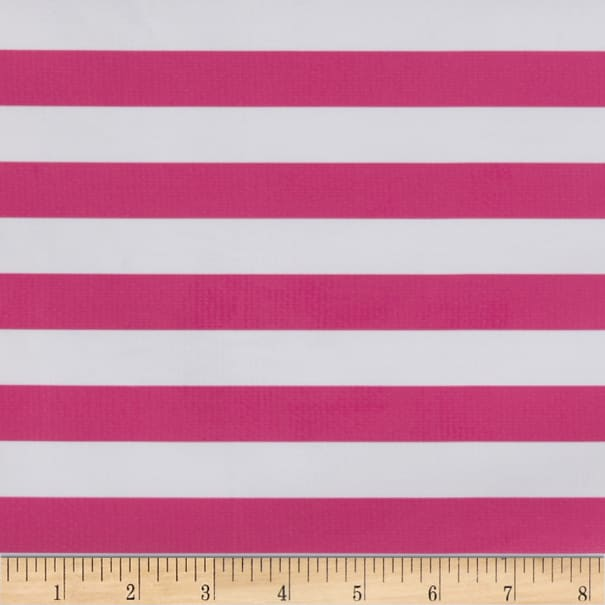 Oilcloth Stripes Pink