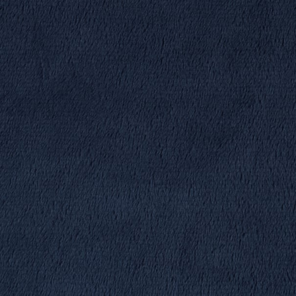 Shannon Minky Solid Cuddle 3 Extra Wide Navy