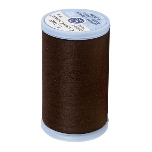 Coats & Clark Cotton Covered Quilting & Piecing Thread 500 YD Chona Brown