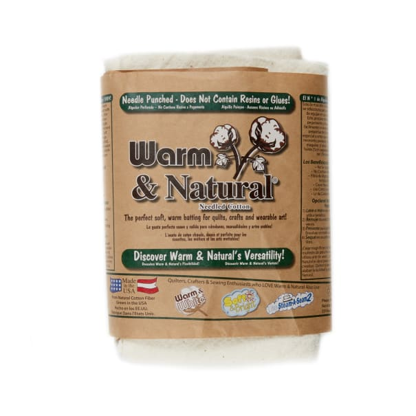 """Warm & Natural Cotton 45"""" Batting By The Yard"""