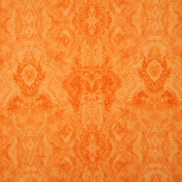Comfy Flannel Tone on Tone Orange