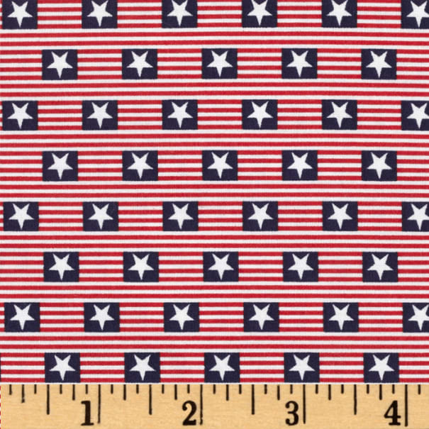 Made in the USA Stars & Stripes Red, White, Blue