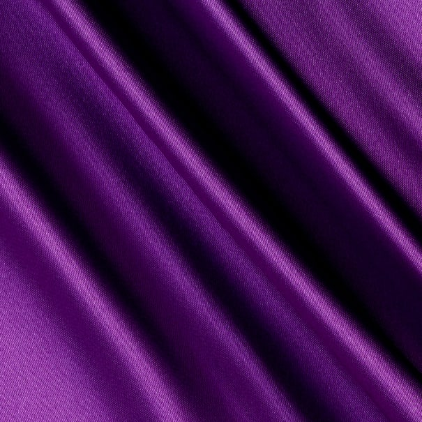 Silky Satin Charmeuse Solid Lavender