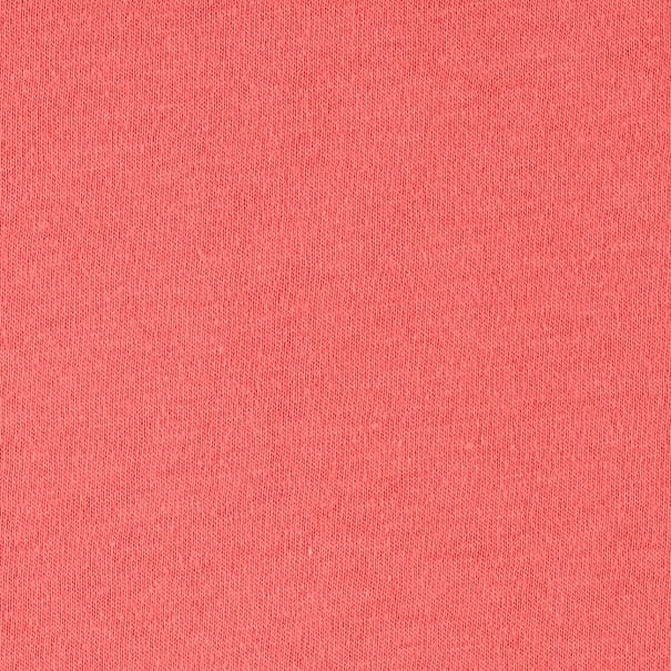 Fabric Merchants Cotton Jersey Knit Solid Coral