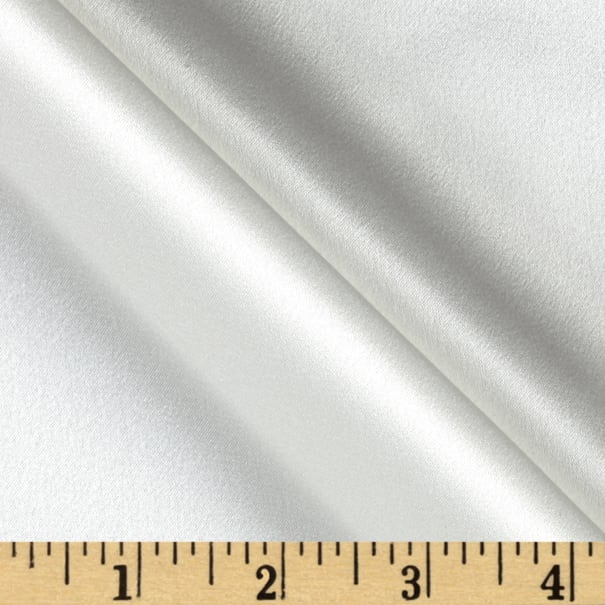 Preview Textiles 100% Silk Charmeuse Ivory