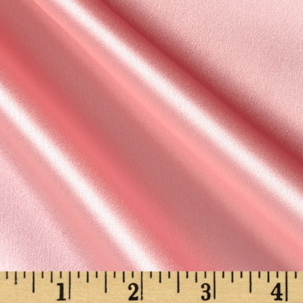 Preview Textiles 100% Silk Charmeuse Pink