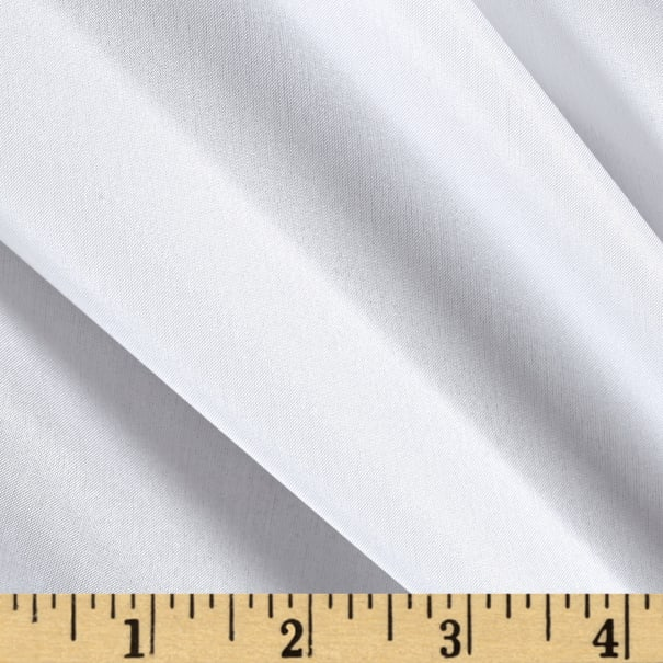 Preview Textiles 100% China Silk Lining White