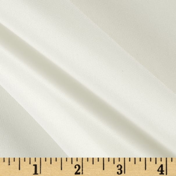 Preview Textiles 100% Silk Chiffon Ivory