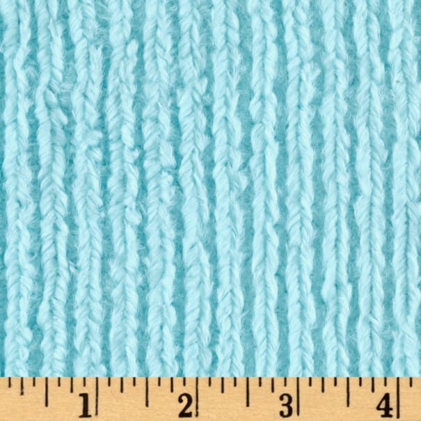 Shannon Minky Luxe Cuddle Chenille Saltwater