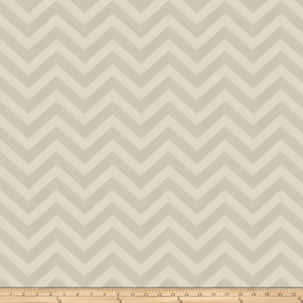Fabricut Durum Chevron Faux Silk Beige