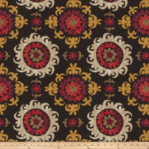 Fabricut Outlet Cotton Duck Trenton Onyx