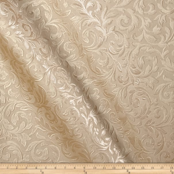 Textured Vinyl Florence Champagne