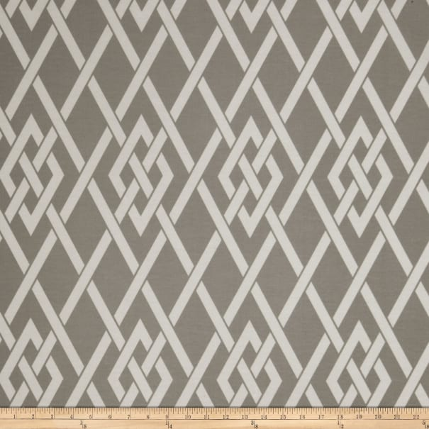 Fabricut Sherry Outdoor Pewter