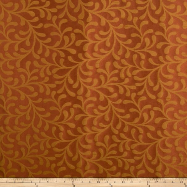 Trend Outlet 1682 Faux Silk Redwood