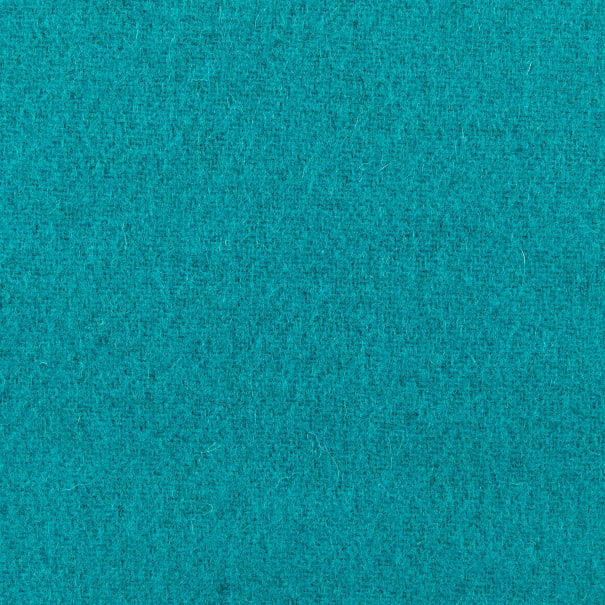 Wool Solid Color Turquoise