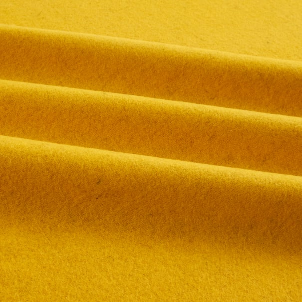 Wool Solid Color Daffodil