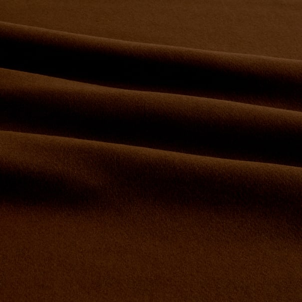 Wool Solid Color Darkchocolate