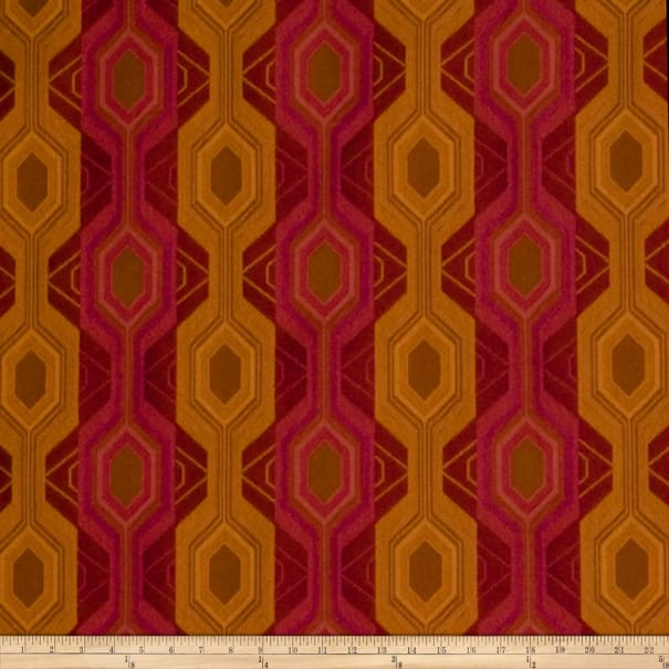 Fabricut Outlet Luxor Jacquard Beetroot