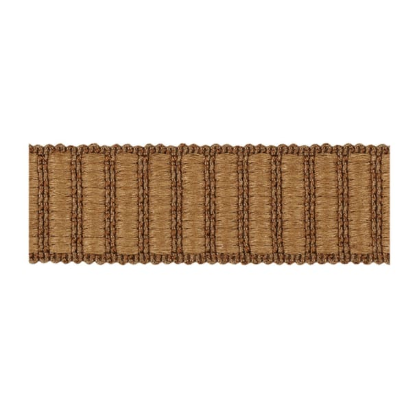 "Fabricut 1.5"" Winnowing Trim Suede"