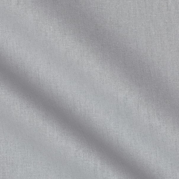 Penny Rose Linen Solid Color Cotton Blend Light Gray