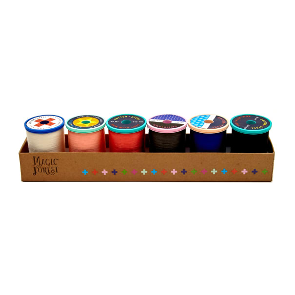 Cotton + Steel 50wt. Cotton Thread Set by Sulky Magic Forest Collection