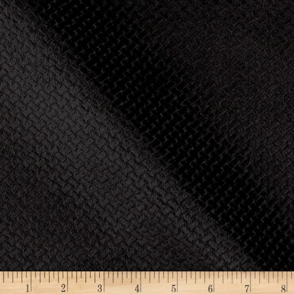 Europatex Velvet Basketweave Black