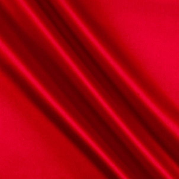 Stretch L'Amour Satin Red