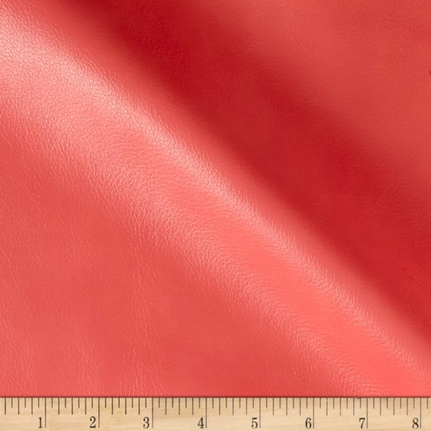 Pecos Faux Leather Coral