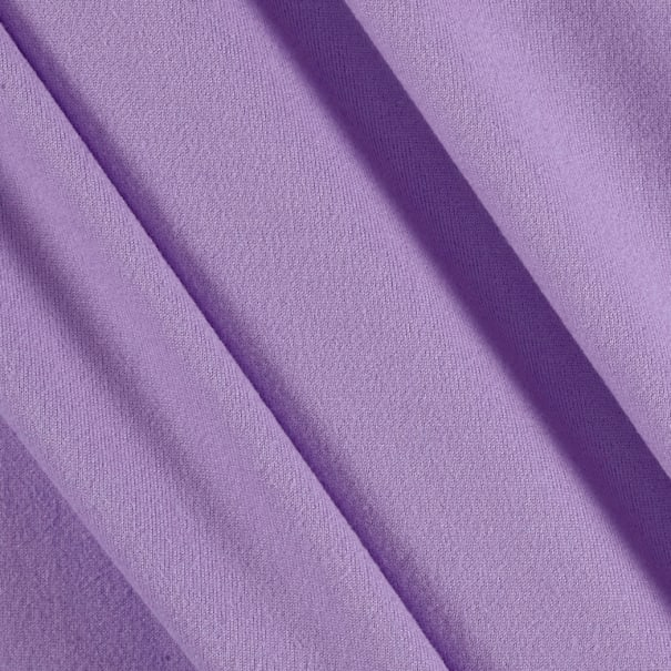 Fabric Merchants Double Brushed Solid Jersey Knit Lilac