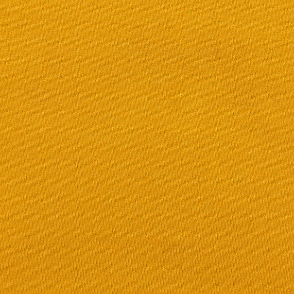 Fabric Merchants Double Brushed Solid Stretch Jersey Knit Mustard