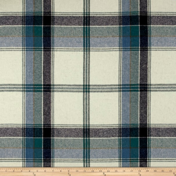 Ralph Lauren Home LCF68174F Yealand Plaid Melton Wool Fir