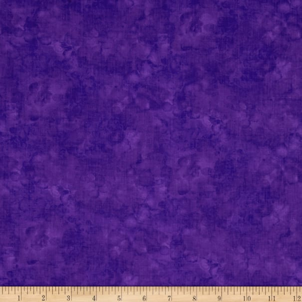 Timeless Treasures Solid-ish Watercolor Texture Violet