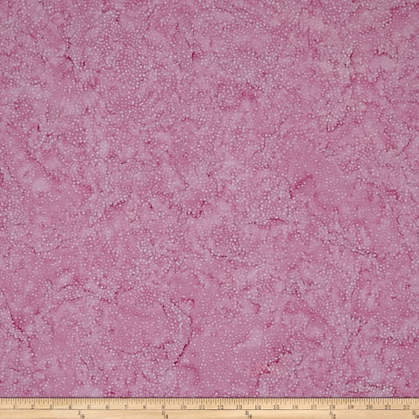 Island Batik Blenders Bubbles Carnation