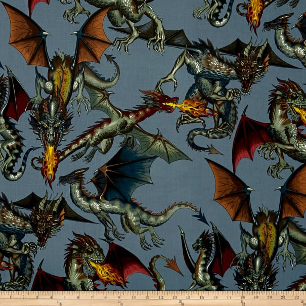 Tale of the Dragon Blue Grey