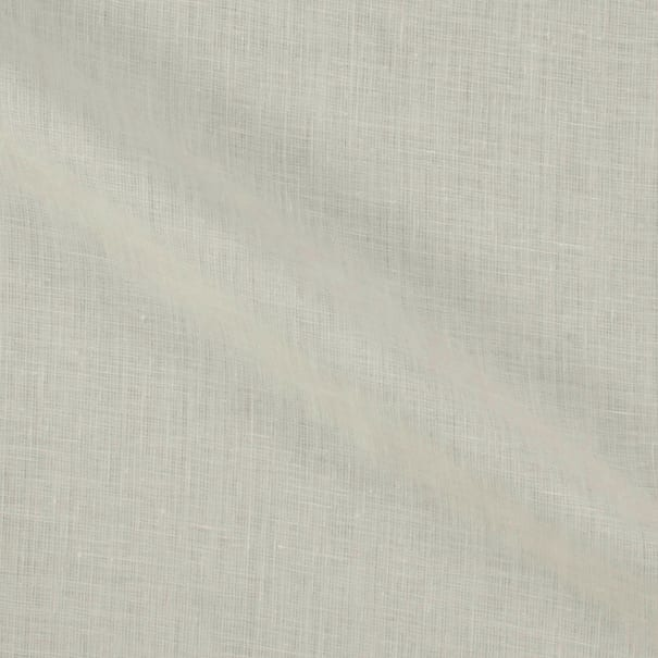 100% European Handkerchief Linen White