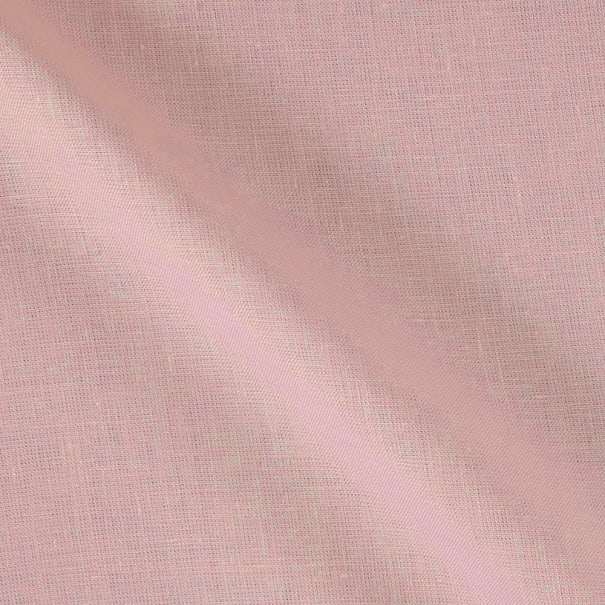 100% European Medium Weight Linen Light Pink