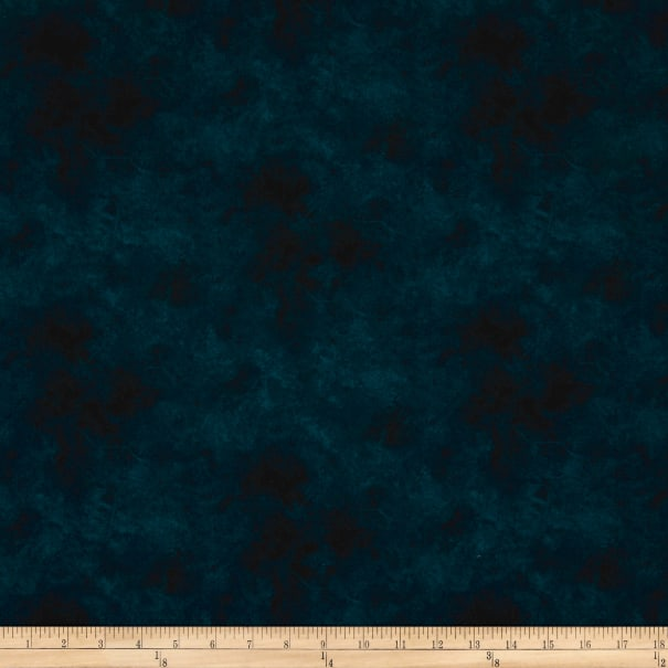 P&B Suede Print Quilting Cotton Blue