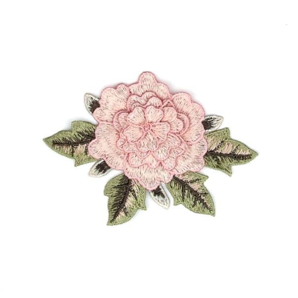 Mina Layered Embroidered Flower Patch Applique 3 X 5 Fabric Com