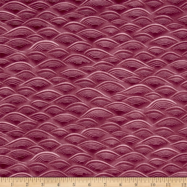Kaufman Imperial Collection Waves Pink